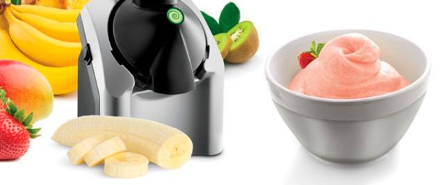 Eismaschine für gesundes Eis