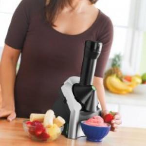 Mit dieser Eismaschine ist Eis kalorienarm / milchfrei / aus Früchten