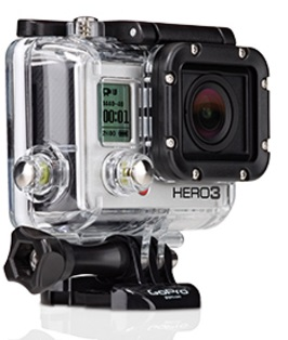 gopro hero3 die action cam