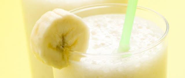 bananen erdnussbutter shake selber machen