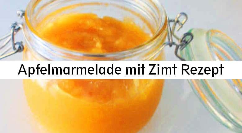 Apfelmarmelade Rezept