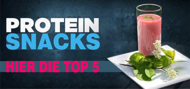 gesunde protein snacks für zwischendurch