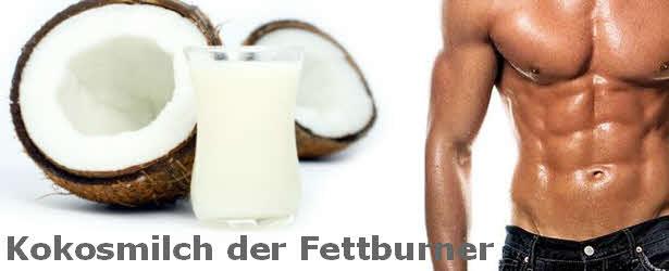 kokosnuss oder kokosmilch als fettburner einsetzen