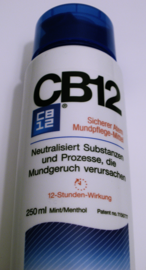 CB12 gegen Mundgeruch
