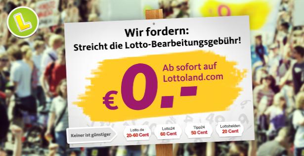 Lotto-Scheingebuehr