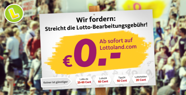 Lotto-Scheingebuehr abschaffen