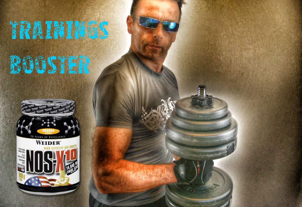 Weider NOS-X10- Pre Workout Drink