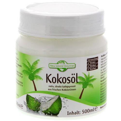 kokosöl gesund Gourmet Kokosöl