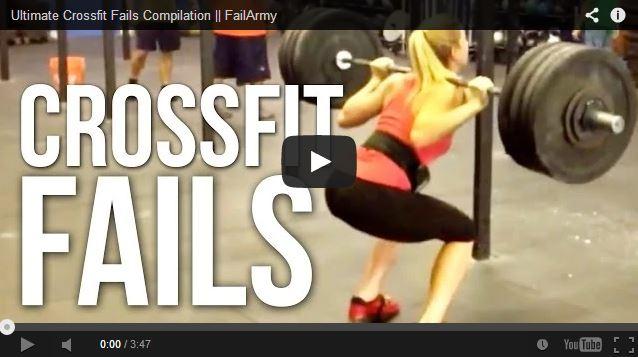 Crossfit Fails auf FitnessTester