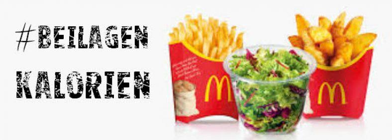 McDonalds Kalorientabelle