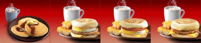 McDonalds kalorientabelle alles zum frühstück