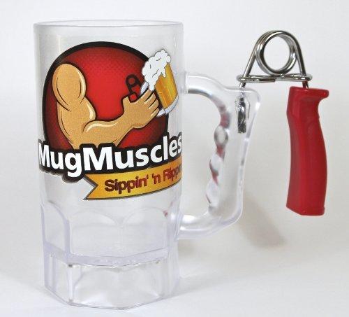 Muskel Bierglas