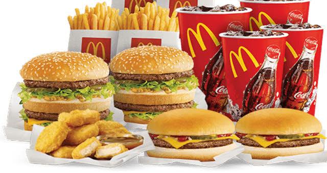 mcdonalds kalorientabelle menü