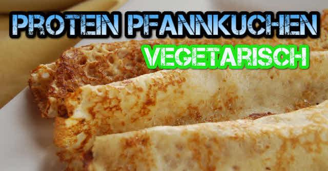 Vegetarische Protein Pfannkuchen - vegetarische rezepte