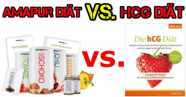 amapur Diät vs. hCG Diät ✔ welche ist die beste?