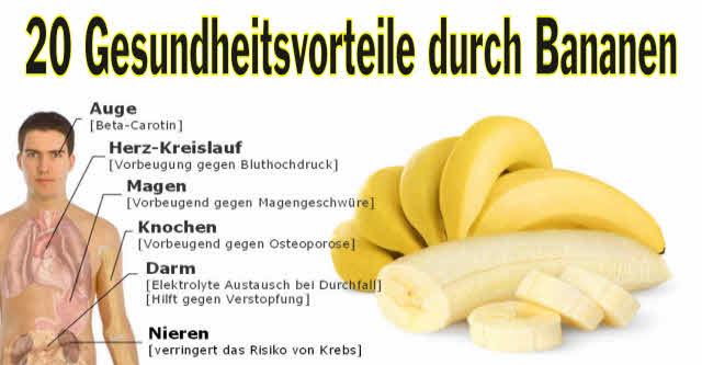 bananen helfen gegen viele krankheiten und liefern energie