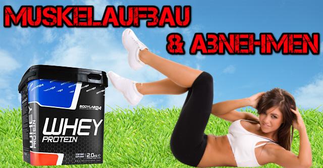 Muskelaufbau und schnell Abnehmen mit Bodylab24
