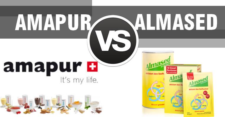 AMAPUR vs. ALMASED welche Formula-Diät ist die Beste zum abnehmen