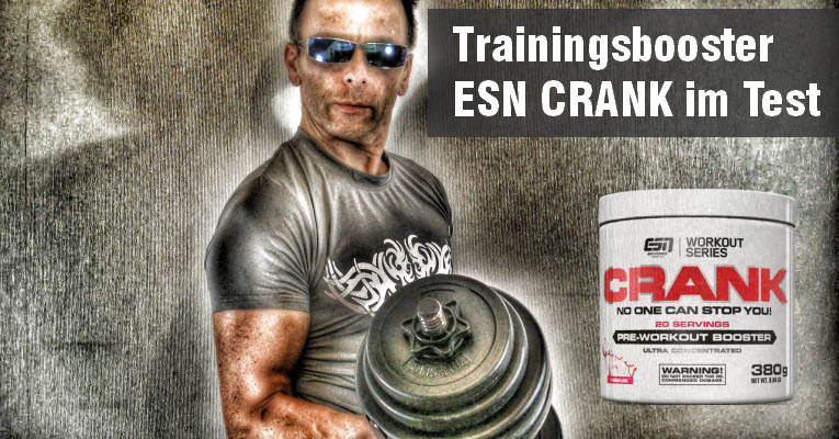 ESN-CRANK Pre Workout Booster