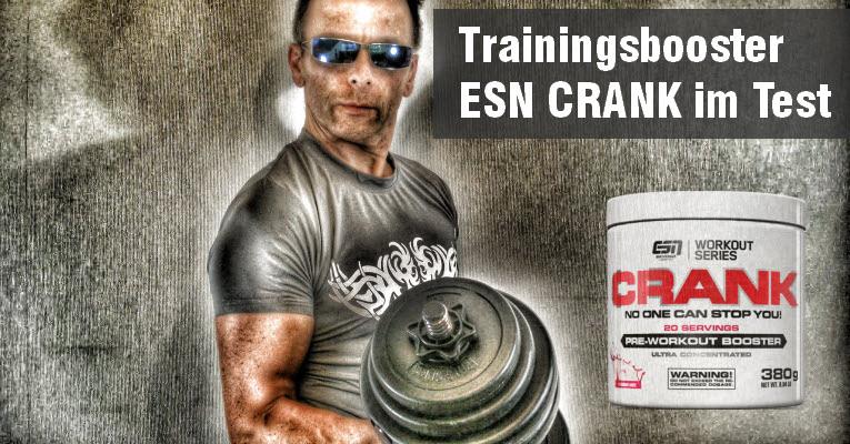 ESN-CRANK Pre Workout Booster