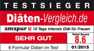 amapur diät testsieger auf diäten-vergleich.de