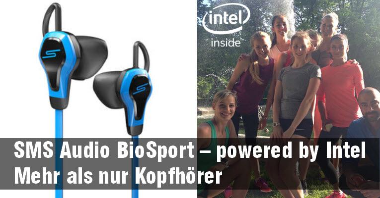Sport Kopfhörer mit Herzmessung