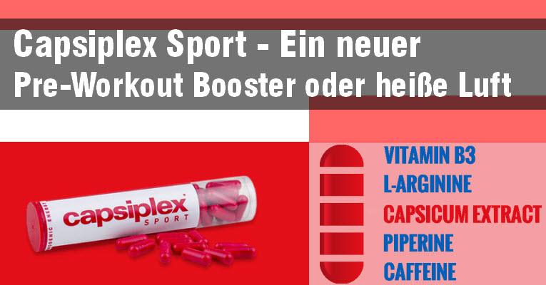 capsiplex sport die diätpille aus den usa
