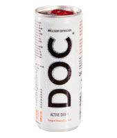 doc weingart active drink - ein gesunder energydrink - einfach natürlich