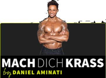 mach dich krass das neue Fitnessprogramm von und mit Daniel Aminati