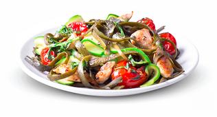 Vegane Pasta aus 100% Algen