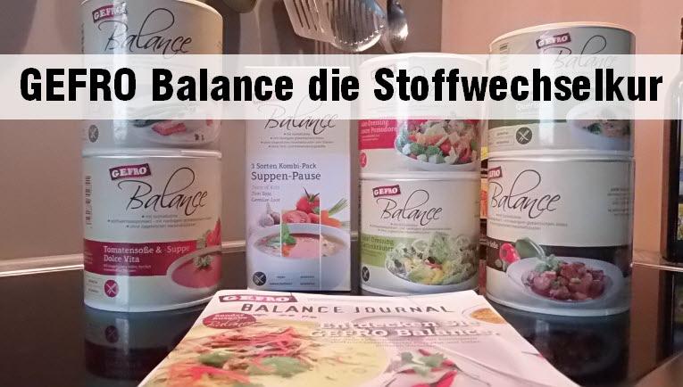 GEFRO Balance ohne Zucker