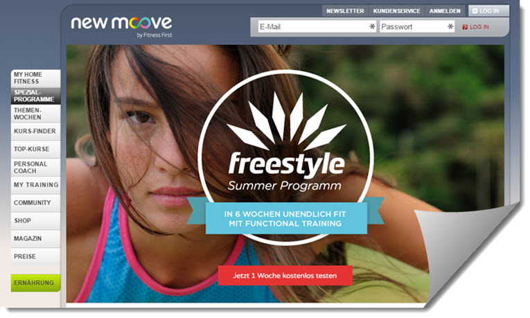 newmoove erfahrungen - onlinefitness studio im test