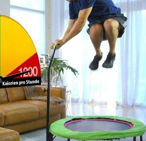 mit fitness trampolin 1200 kalorien verbrennen