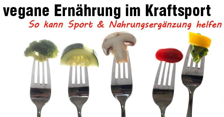 vegane Sport & Nahrungsergänzung