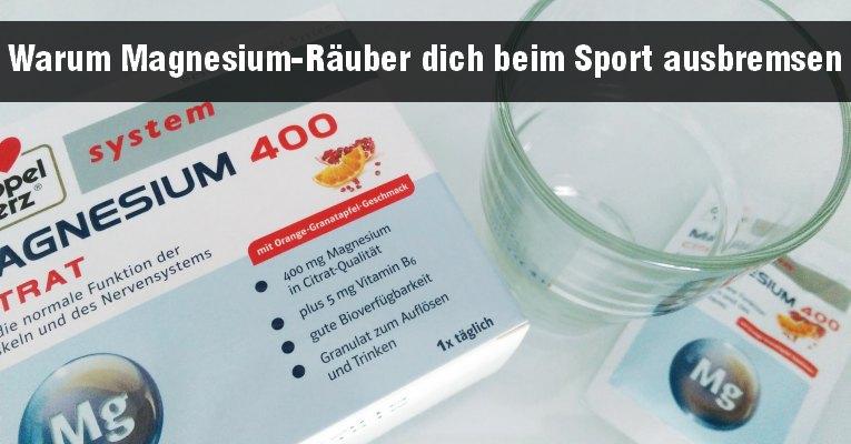 Doppelherz Magnesium als Ergänzung beim Sport