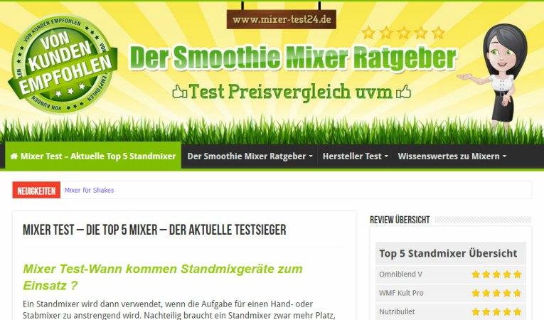 smoothie-mixer - smoothie-maker welcher ist der beste