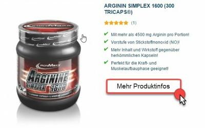 ironmaxx ARGININ - die perfekte ergänzung zum Muskelaufbau