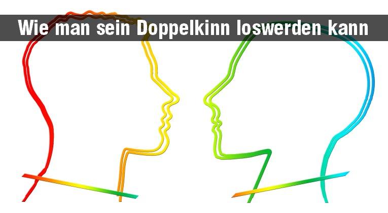 Problemzone Doppelkinn