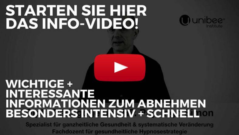 Mit Direkt-Hypnose besonders Leicht Abnehmen - Hier das Info-Video