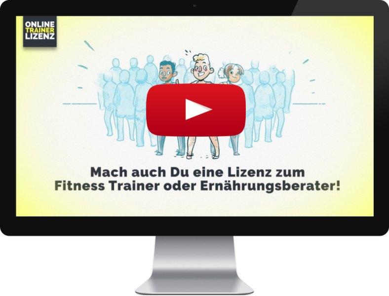 Info-Video Mach dein Hobby zum Beruf und werde Fitnesstrainer/-in, Ernährungsberater/-in oder Pilatestrainer/-in