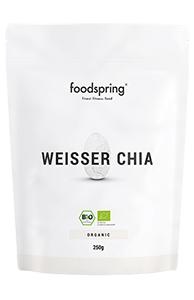 perfekt zur gewichtsreduktion weißer chia enthalten im ABNEHM-PAKET von foodspring