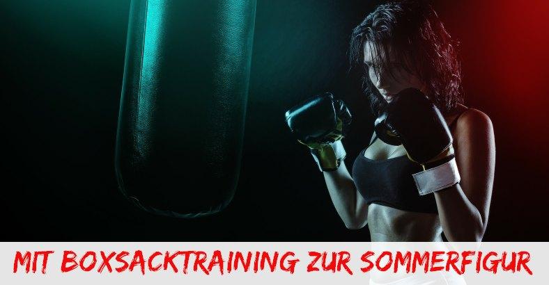 Boxsacktraining zum abnehmen und fit werden