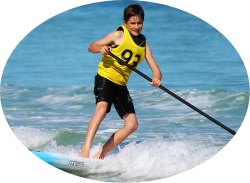 Neuer Fitnesstrend: Stand Up Paddling