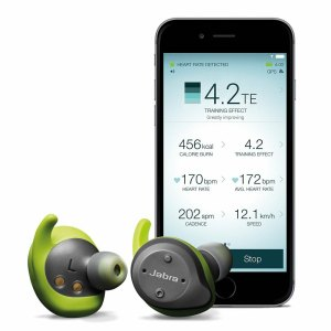 Wasserdichte Sportkopfhörer für Fitness und Laufen In-Ear-Hörer mit Herz- und Activity Monitor