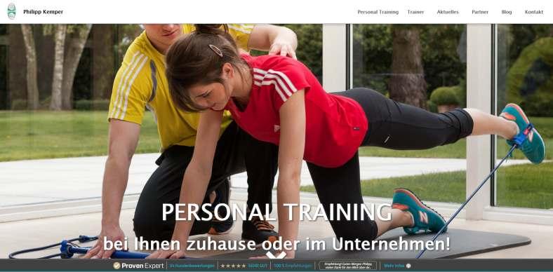 Personal Training & Abnehmen mit Philipp Kemper
