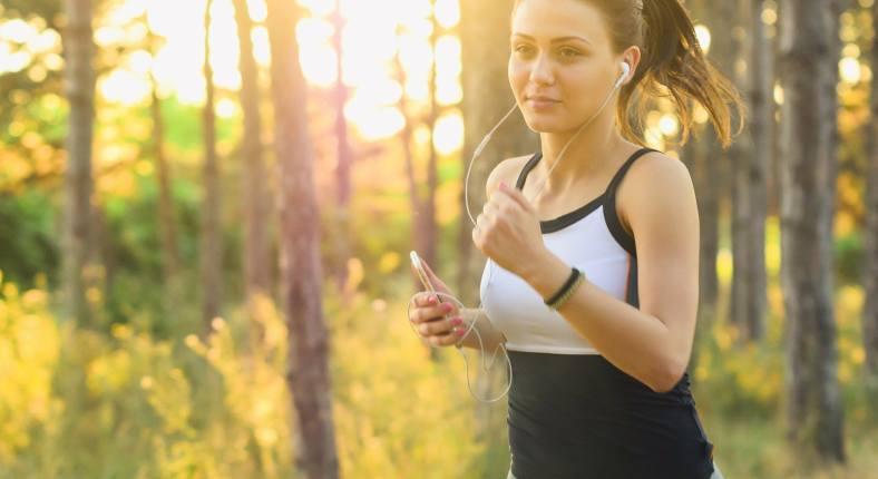Joggen mit Smartphone