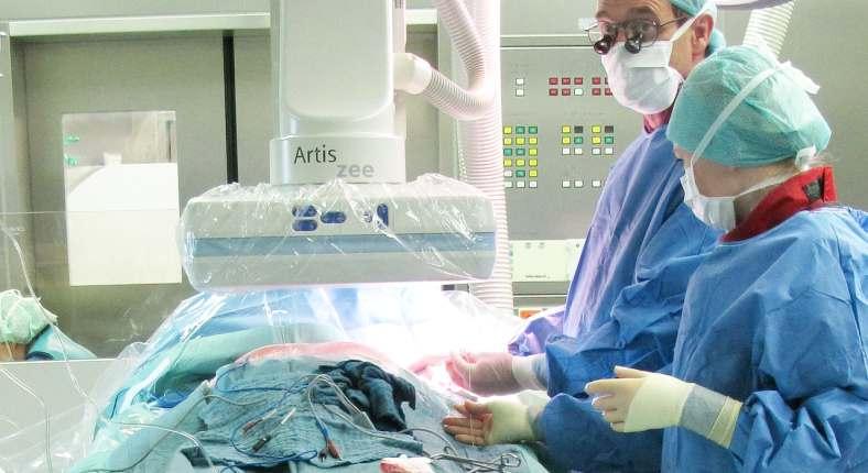 Chirurgen finden