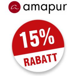 15% Amapur Gutscheincode