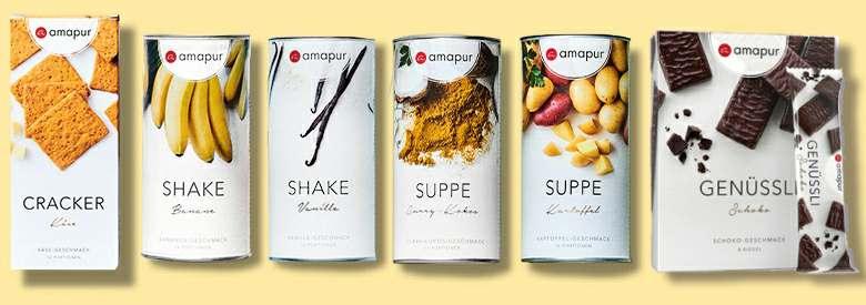 Amapur Einzelprodukte Übersicht