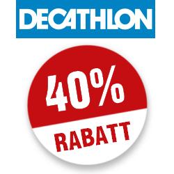 40% Decathlon Gutschein
